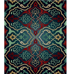 Artistic ottoman pattern series sixty two vector