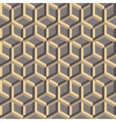 3d abstract geometric seamless background vector