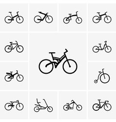 Bikes vector image vector image