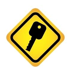 Car key icon design vector