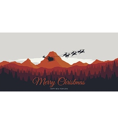 Merry christmas and happy new year 2016 vector