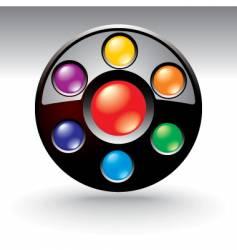 icon menu vector image
