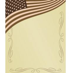 American page vector