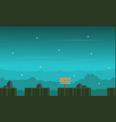 Game background baeuty landscape collection vector