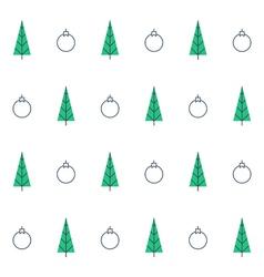 New year christmas seamless pattern xmas vector