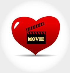 I love movie vector