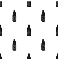 Lotion icon in black style isolated on white vector