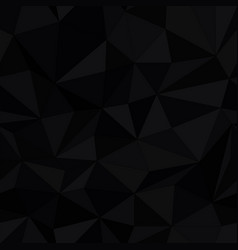 Dark triangle surface seamless pattern simple vector