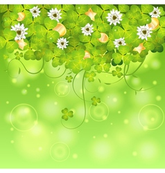 St patrick day frame vector