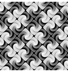 Design seamless vortex movement strip pattern vector