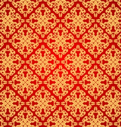 Pattern on red vector