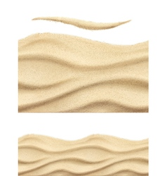 Sea sand seamless pattern vector