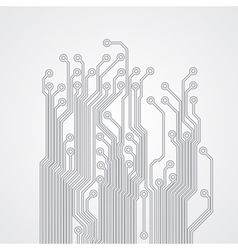 Abstract background with a circuit board texture vector image vector image