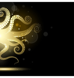 Abstract Tentacles vector image