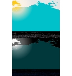 Day and night in Modern Flat Design vector image