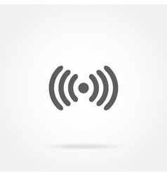 Icons wi fi vector