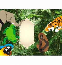 Jungle sign vector