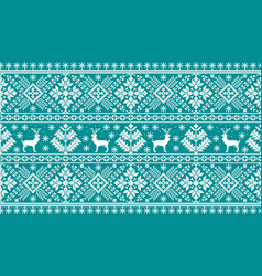 of folk seamless pattern ornament vector image