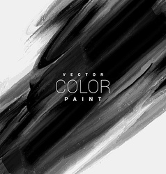 Ink paint smudge design art vector
