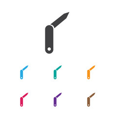Of trip symbol on jackknife vector