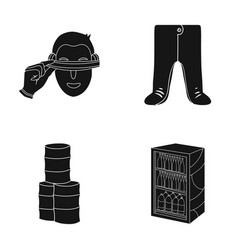 Trade ecology textiles and other web icon in vector