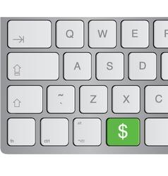 media icon keyboard vector image