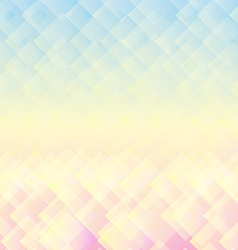 Abstract geometric mosaic pastel background vector image