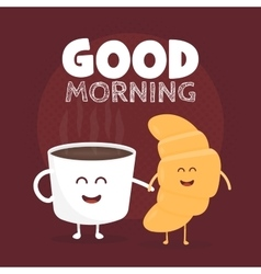 Good morning  funny cute vector