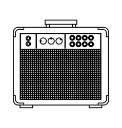 audio console professional icon vector image