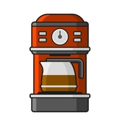 Coffee Machine Icon vector image vector image