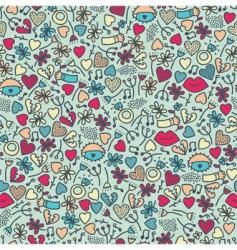 cute wallpaper vector image vector image