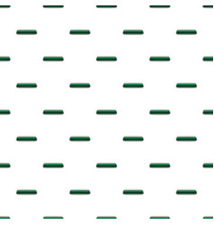 Dark green rectangular button pattern vector