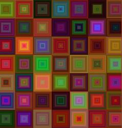 Dark square mosaic background design vector