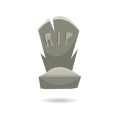 Grave isolated on a white backgrounds vector image vector image