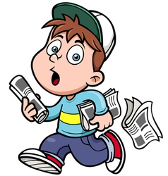Paperboy vector image