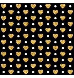 Valentines day seamless pattern background vector