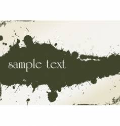 grungy template vector image vector image