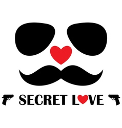 Secret Love vector image