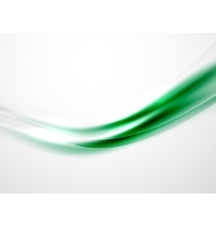 Blurred wave abstract template vector