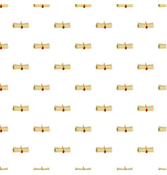 Magic scroll pattern vector