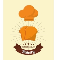 Bakery related emblem image vector