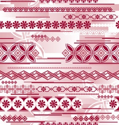 Irregular seamless pattern vector