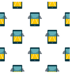 Mobile gaming pattern seamless vector