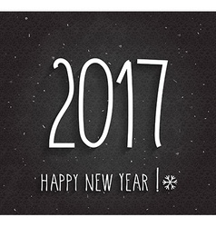 New year 2017 design vector image