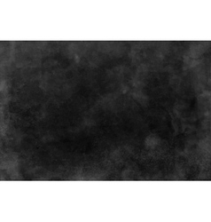 Black and dark gray watercolor texture background vector