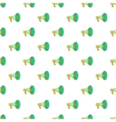 Loudspeaker pattern cartoon style vector