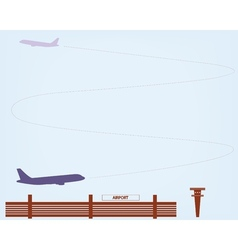 Airport vector image