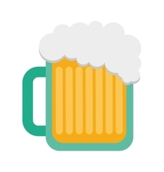 Beer glass drink beverage silhouette icon vector