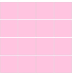 Grid square pink background vector