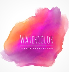 Pink color ink background vector